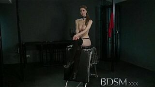 BDSM XXX Youthfull big boobed sub gets hard assfucking from her Master